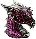 Backflow Cone Burner: Purple Dragon Head (NEW)