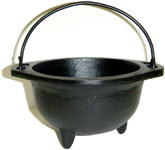 Cast Iron Cauldron, 6 inch