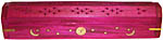 PINK Coffin Incense Burner