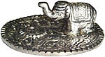 Metal Burner: Elephant, 2.75 inch