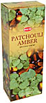 (SET OF 6) Patchouly-Amber incense, 20 Grams