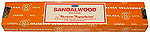 Sandalwood incense, 15 grams