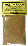 Powdered Incense: Amber-Patchouly