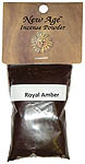 Powdered Incense: Royal Amber