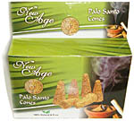 Palo Santo cones, box of 12