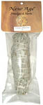 White Sage Smudge, 5 inch packaged