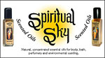 Header Sign for Spiritual Sky OILS