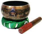 Tibetan Singing Bowl, 6 inch wide