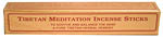 Tibetan Meditation Incense 6 inch, 20 sticks
