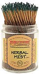 Wildberry Shortie Incense: Herbal Mist (CLOSEOUT)