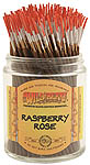 Wildberry Shortie Incense: Raspberry Rose