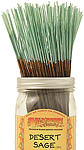 Wildberry Incense Sticks: Desert Sage