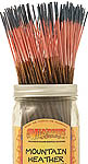 Wildberry Incense Sticks: Mountain Heather