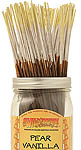 Wildberry Incense Sticks: Pear Vanilla