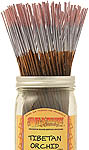 Wildberry Incense Sticks: Tibetan Orchid
