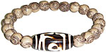Bracelet: Wooden Buddha Beads (NEW)