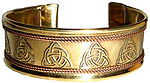 Copper Bracelet: Charmed
