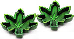 [SET OF 2] Ashtray: Leaf Outline, 5 inch