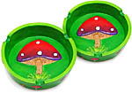 [SET OF 2] Ashtray: Mushroom, 4.5 inch
