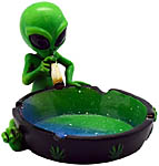 Ashtray: Alien Smoker, 4 inch (NEW)