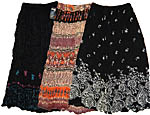 Skirt: Assorted Floral and Black Patterns