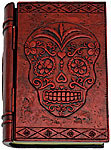 Polyresin Box: Sugar Skull Book