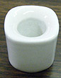 Holder for Chime Candles - Ceramic, White (NEW PRICE)