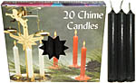 Chime Spell Candles: Black [Box of 20]