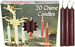 Chime Spell Candles: Brown [Box of 20]