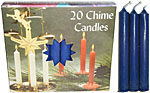Chime Spell Candles: Dark Blue [Box of 20]