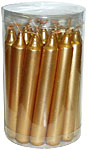 Chime Spell Candles: Gold [Box of 20]