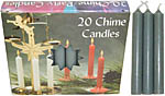 Chime Spell Candles: Grey [Box of 20]