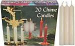 Chime Spell Candles: Ivory (off white) [Box of 20]