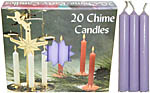 Chime Spell Candles: Light Lavender [Box of 20]