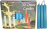Chime Spell Candles: Light Blue [Box of 20]