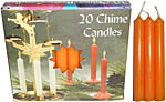 Chime Spell Candles: Orange [Box of 20]