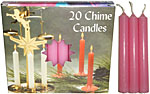 Chime Spell Candles: Pink [Box of 20]