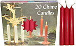 Chime Spell Candles: Red [Box of 20]