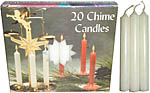 Chime Spell Candles: White [Box of 20]