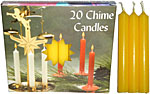 Chime Spell Candles: Yellow [Box of 20]