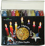 New Age Candles: Assortment [Box of 20]