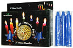 New Age Candles: Dark Blue [Box of 20]
