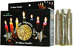 New Age Candles: Green [Box of 20]