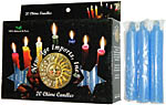 New Age Candles: Light Blue [Box of 20]