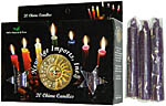 New Age Candles: Purple [Box of 20]