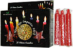 New Age Candles: Red [Box of 20]