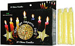 New Age Candles: Yellow [Box of 20]