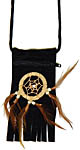 Pouch with Dreamcatcher, Black