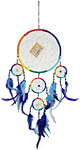 Dream Catcher: Large Five Rings with beads, 12 inch