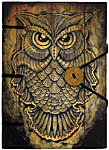 Handmade Journal: Wise Owl